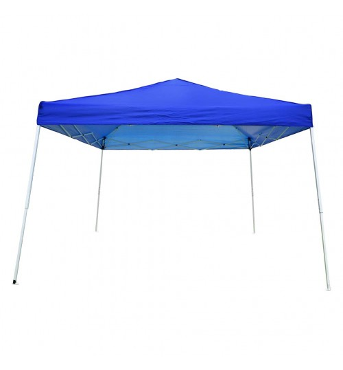 OTLIVE 10x10 Canopy Tent Slant Legs Waterproof Top Portable Pop Up Tents (10x10, Blue)