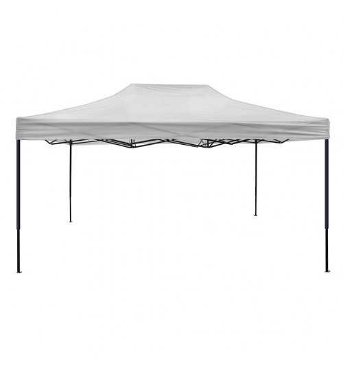 OTLIVE Canopy Tent with 420D Waterproof Top Portable Pop Up Tents for Outdoor Events Wedding Parties (10x15, White and Black)