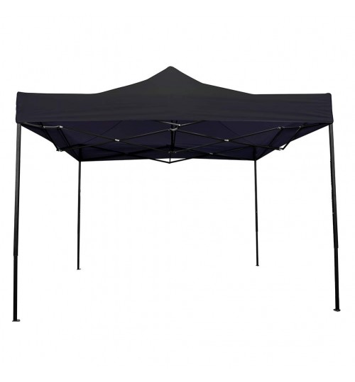 OTLIVE Canopy Tent with 420D Waterproof Top Portable Pop Up Tents for Outdoor Events Wedding Parties (10x10, Black)